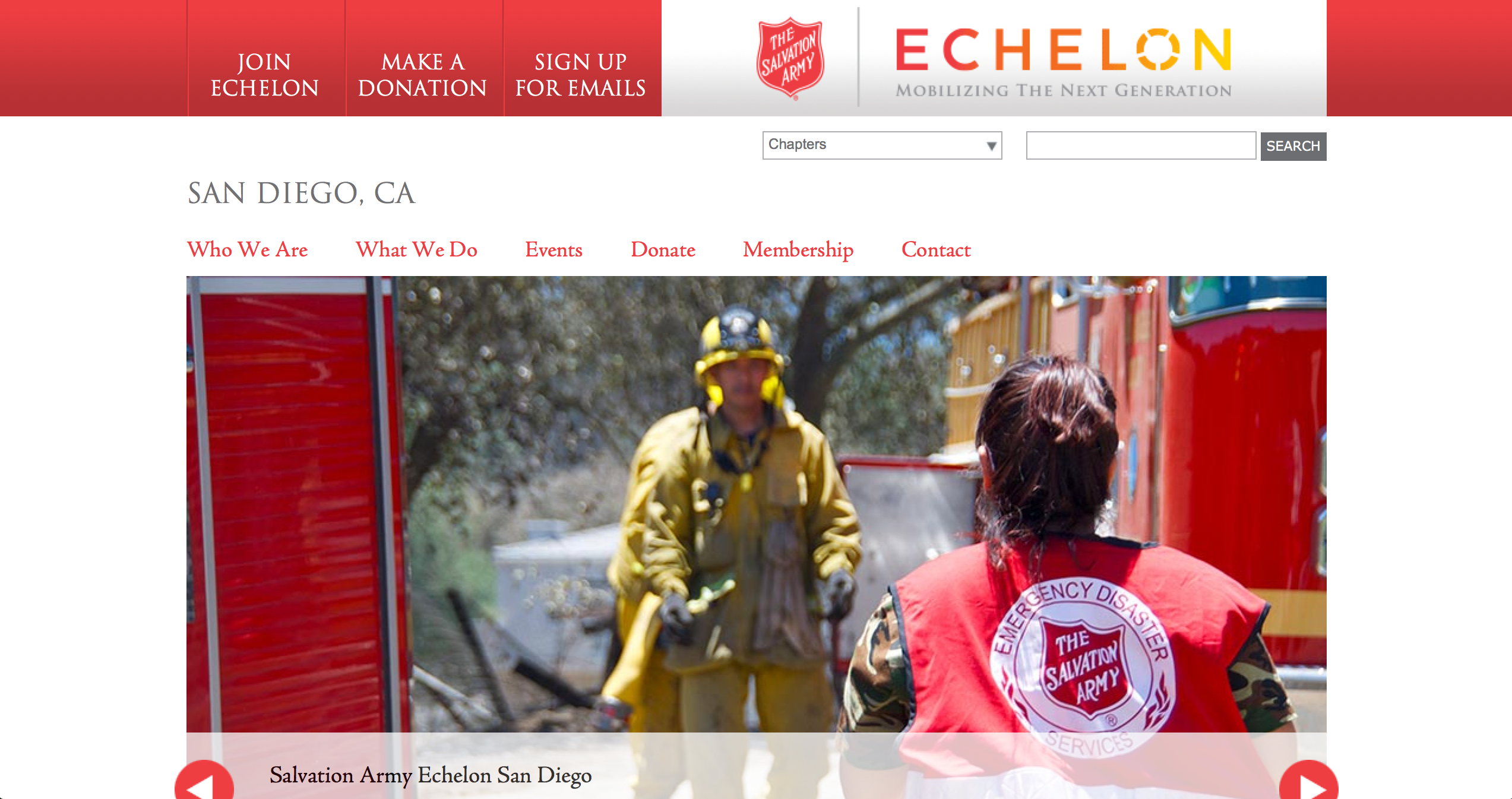 Salvation Army Echelon San Diego