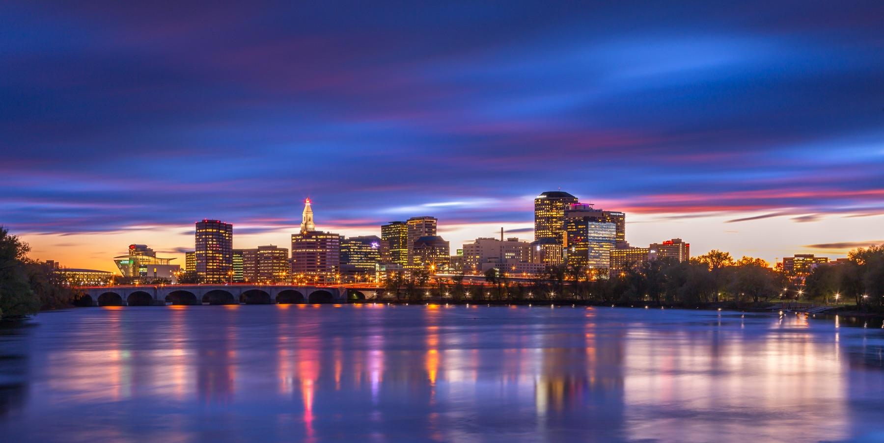 CiviCamp Hartford city landscape